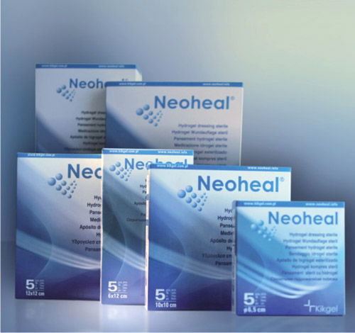 Neoheal Sterile Hydrogel Dressings For Moist Wound Management