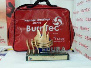 Opatrunki BurnTec zostały wyróżnione na targach sprzętu ratownictwa medycznego EDURA